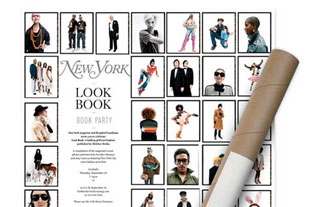 Invitation for New York magazine
